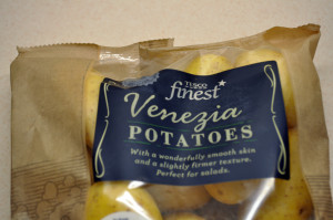 Venezia potatoes in a bag