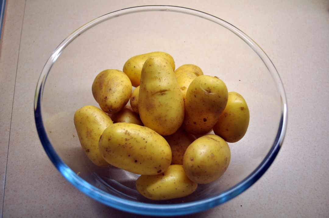 Venezia potatoes in a bowl