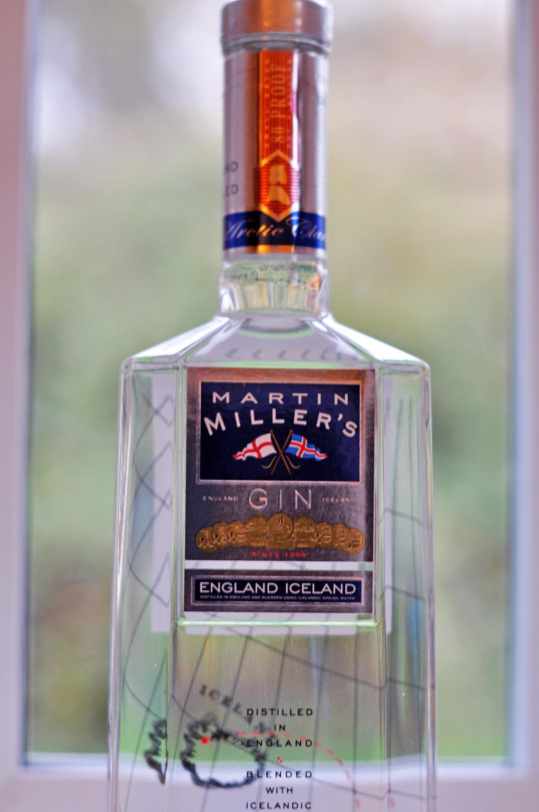 Martin Miller's Gin bottle