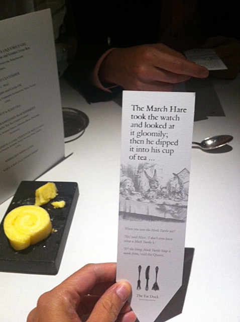 Fat Duck Mad Hatter's story