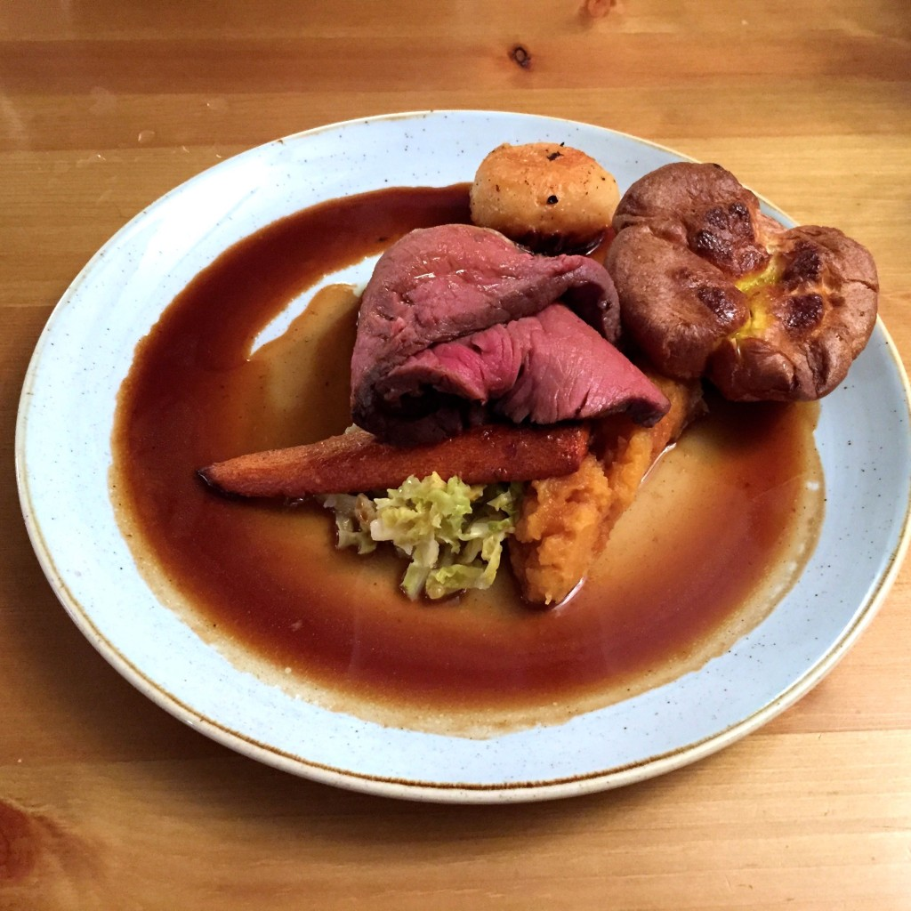 Rose & Crown roast beef