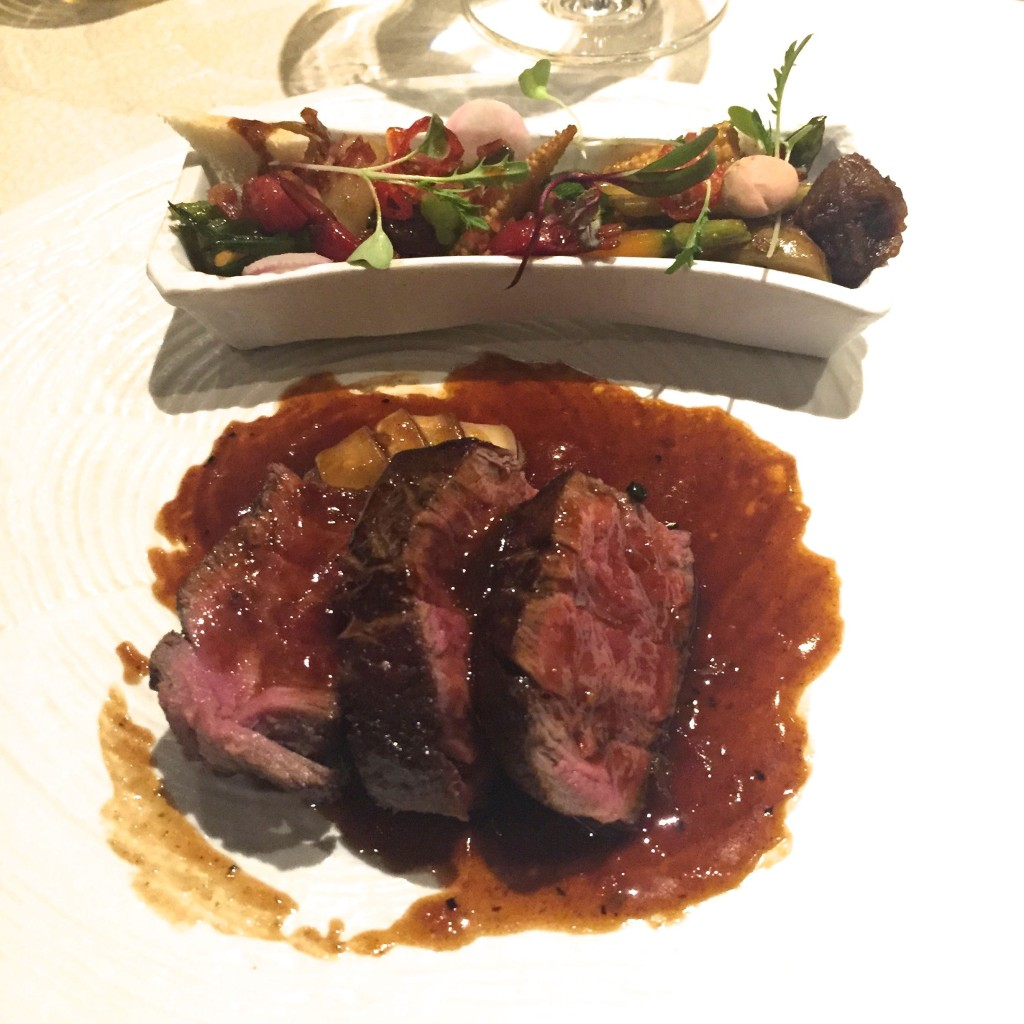 Il Gallo D'Oro Steak and confit veal