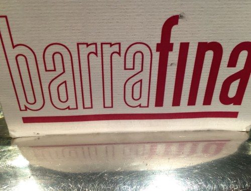 Barrafina menu