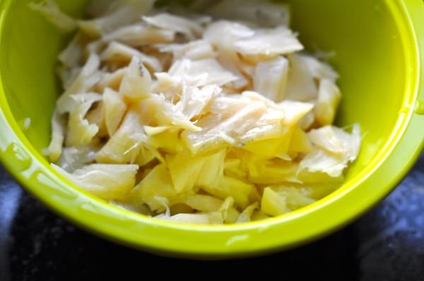 Salt cod shredded