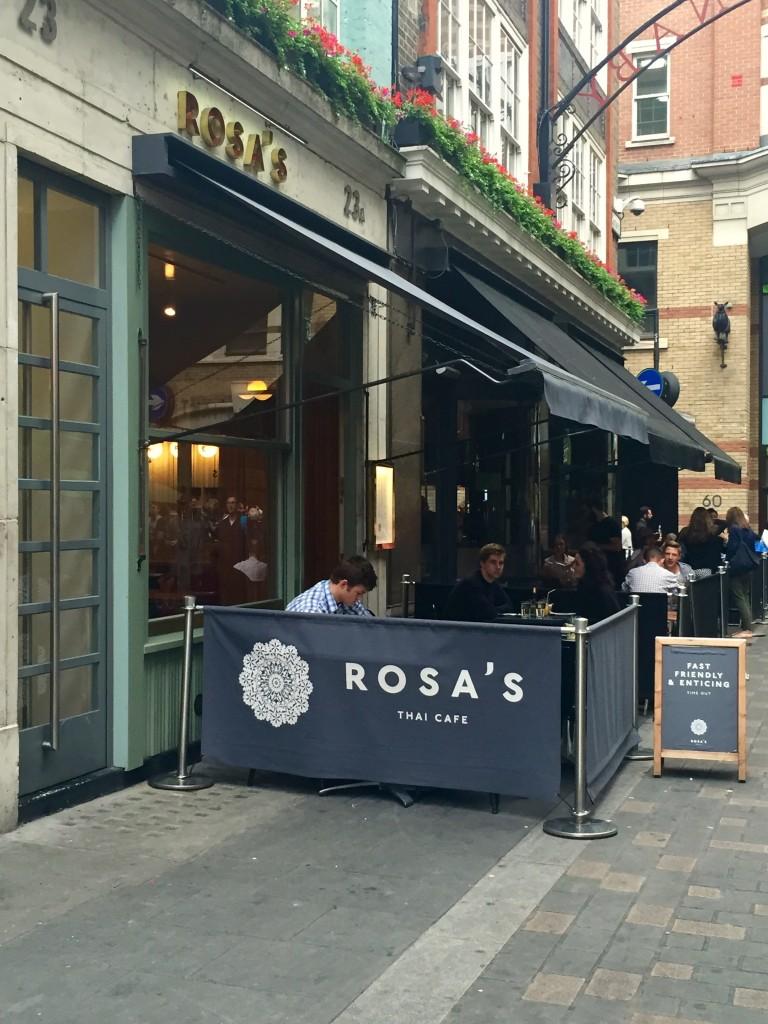 Rosa's Carnaby Street