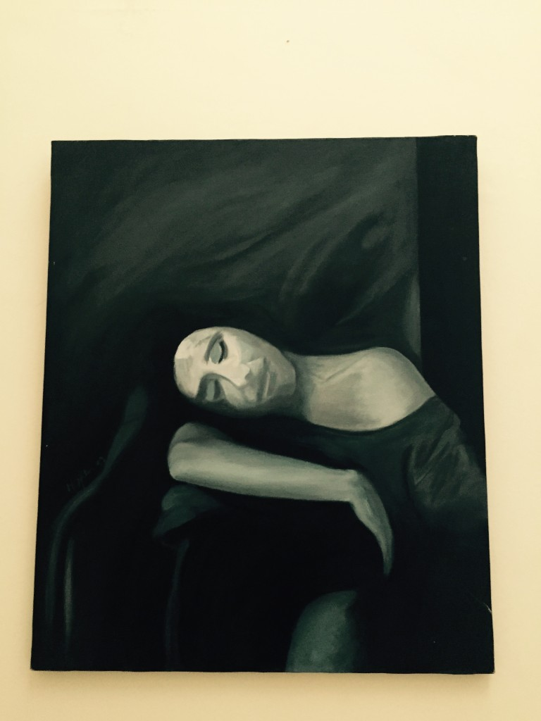 One of my oil paintings