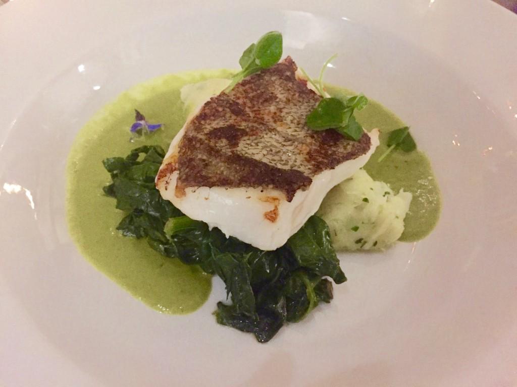 Jeremy's cod dish