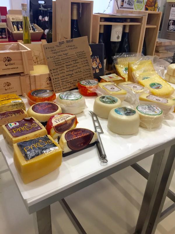 Cheeses at Saboriccia